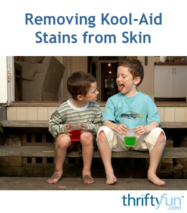 Kool Aid Nail Polish Stains: Removing Kool-Aid Stains From Skin