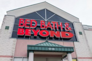 The front of a Bed Bath & Beyond store.