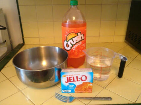 Soda Jello ingredients