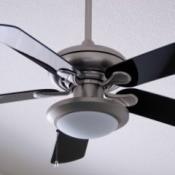 nickel silver toned fan