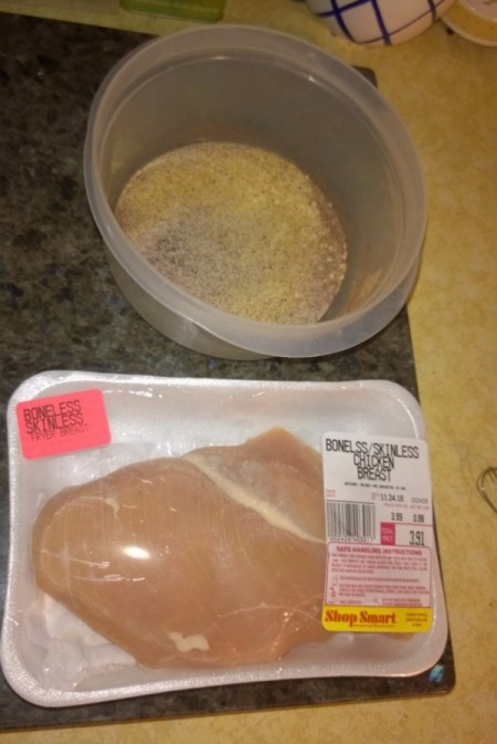 Sweet Bacon Chicken ingredients