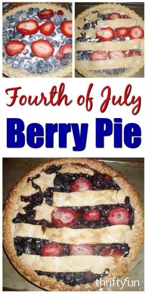 Fourth of July Berry Pie | ThriftyFun
