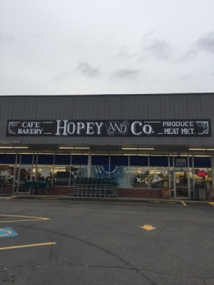 """A salvage store called """"Hopey and Co."""""""