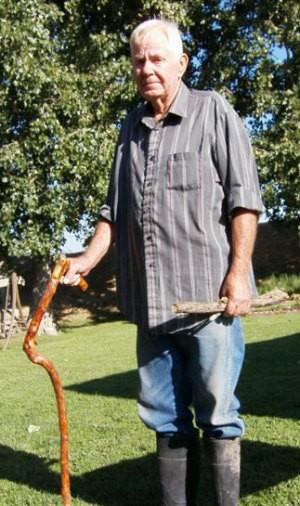 Dick Larson's Walking Sticks