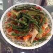 Bowl filled with Stir Fry Vegetables