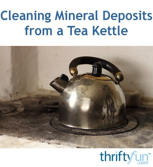 Cleaning Mineral Deposits from a Tea Kettle | ThriftyFun