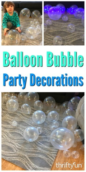 Balloon Bubble Party Decorations
