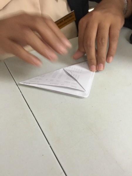 Folded Paper Box - both sides folded