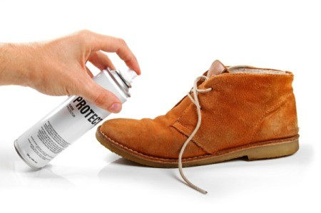 Cleaning Grease Stains on Suede Shoes