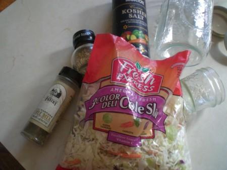 Cole Slaw Sauerkraut