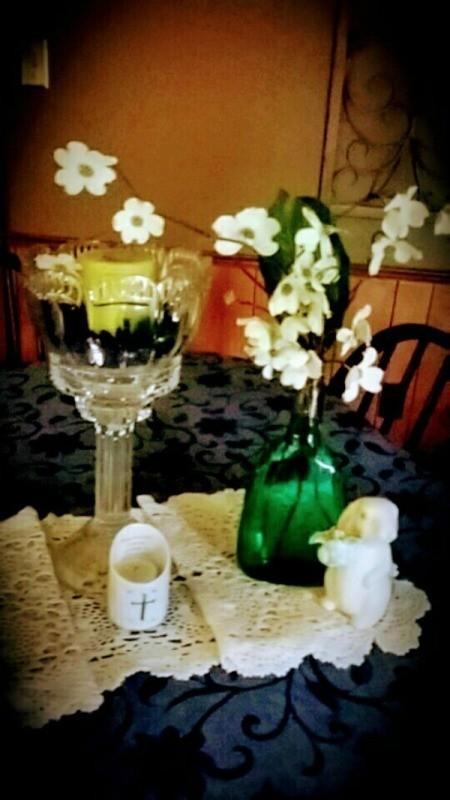 Dogwood Blossoms Radiate Spring - flowers in vases