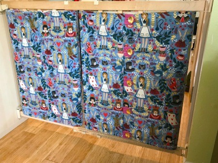 Fabric Cover for Baby Gate - check fitting