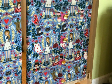 Fabric Cover for Baby Gate - small panel
