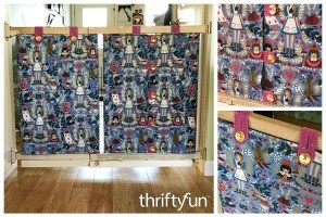 How to Make a Fabric Cover for Baby Gate