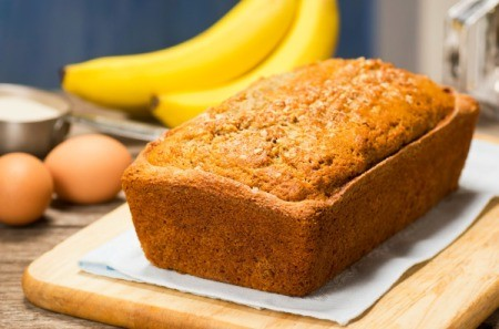 Perfect Banana Bread Loaf