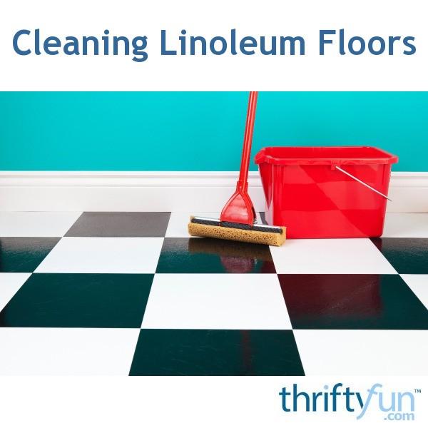 cleaning linoleum floors thriftyfun. Black Bedroom Furniture Sets. Home Design Ideas