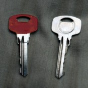 Use Nail Varnish to Mark Keys