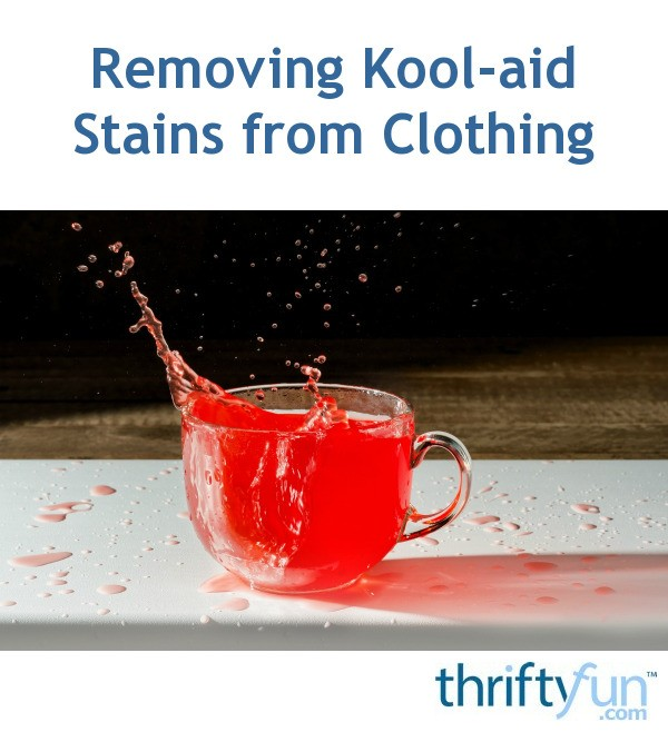 Kool Aid Nail Polish Stains: Removing Kool-aid Stains From Clothing