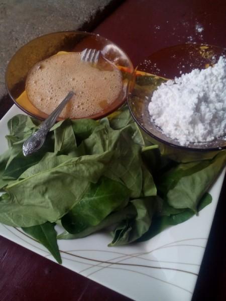 Water Spinach Crisp ingredients
