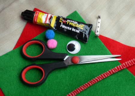 One Eyed Monster Badge - supplies