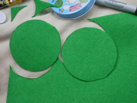 One Eyed Monster Badge - cut out