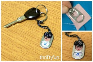 Little Lady Pop Tab Key Fob