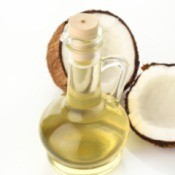 Coconut Oil for Hair Lightening