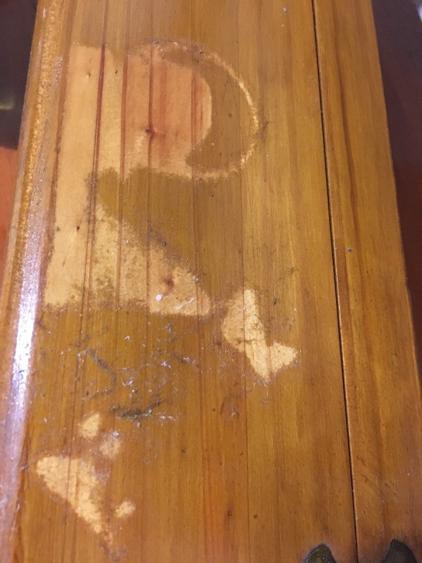 Varnish Damaged By Spilled Perfume Thriftyfun