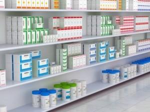 drugstore shelf