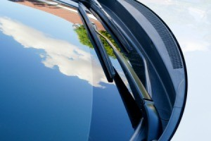 Car windshield.