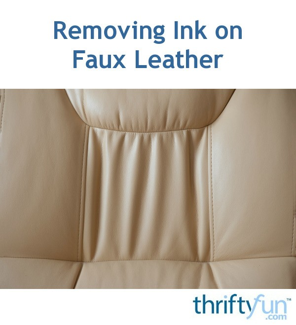 how to remove blue ink from leather sofa. Black Bedroom Furniture Sets. Home Design Ideas