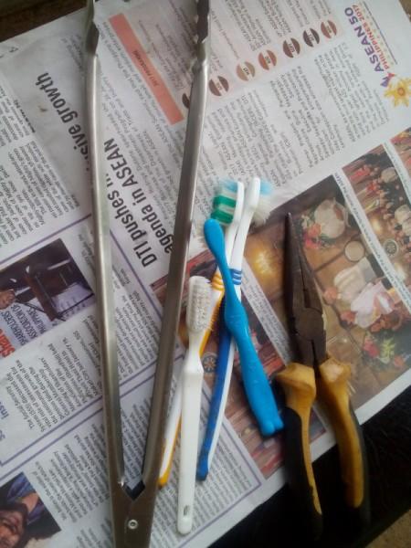Toothbrush Bracelet - supplies