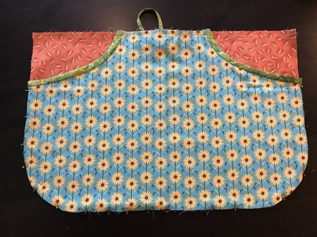 Clothespin Apron - pouch pinned to apron