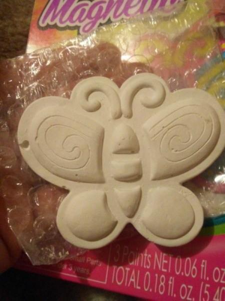 My Dollar General Butterfly - unpainted butterfly