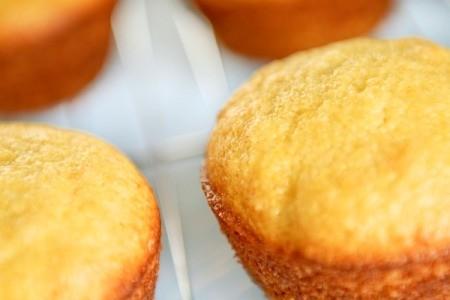 A batch of corn muffins.