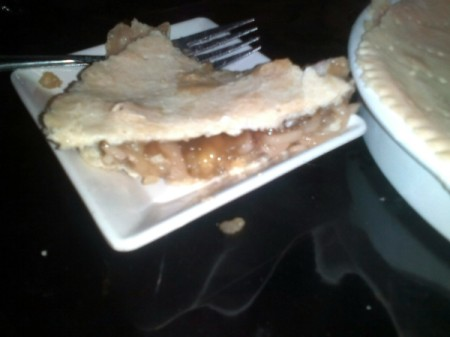 piece of Homemade Buko Pie