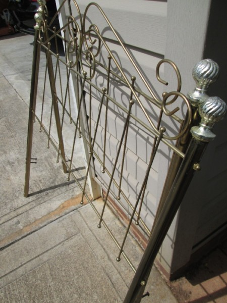 Metal Head and Footboard for Your Garden