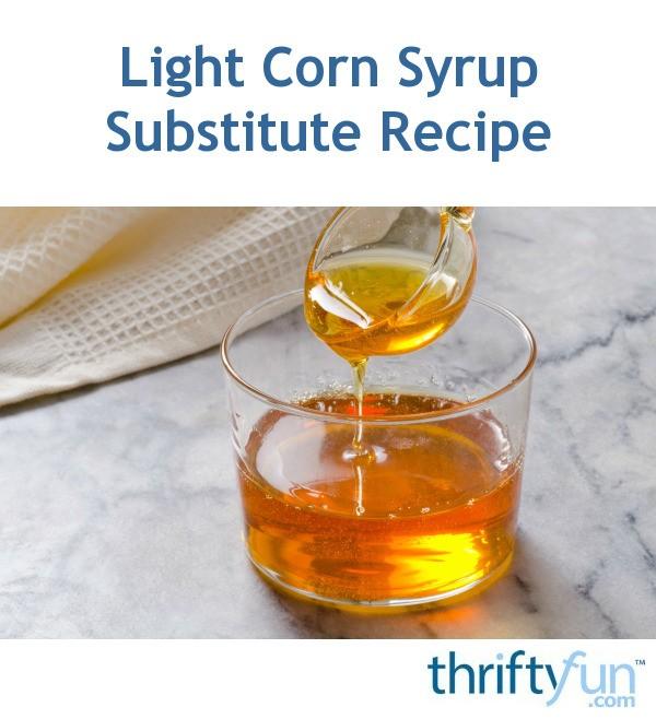 Corn Syrup Cake Recipe
