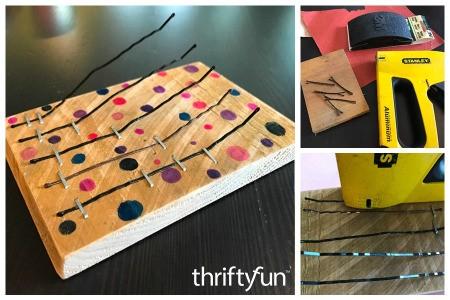 How to Make a Bobby Pin Thumb Piano