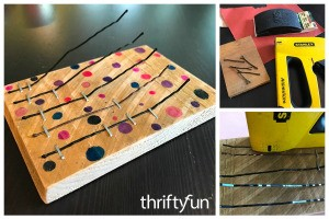 How to Make a Bobby Pin Thumb Piano
