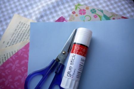 Easy Elegant Paper Party Favours - supplies