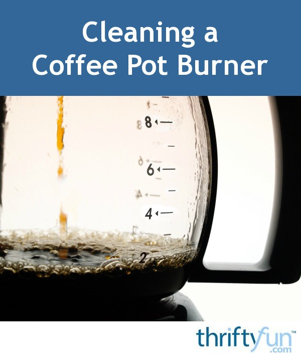 how to clean coffee pot stains