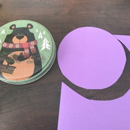 3D Flower Mother's Day Card - start cutting to circles