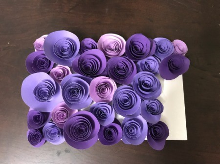 3D Flower Mother's Day Card - almost covered