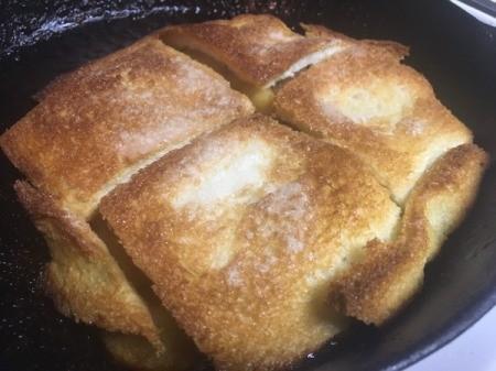 baked One Pan Apple Charlotte
