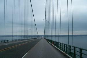 Macinack Bridge In Michigan