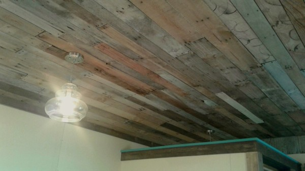 Pallet Wood Ceiling Thriftyfun
