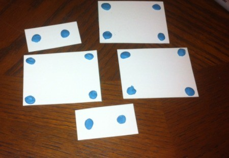 Handmade Labels for Storage Containers and Drawers - add poster putty to back