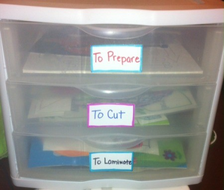 Handmade Labels for Storage Containers and Drawers  - labels on drawers