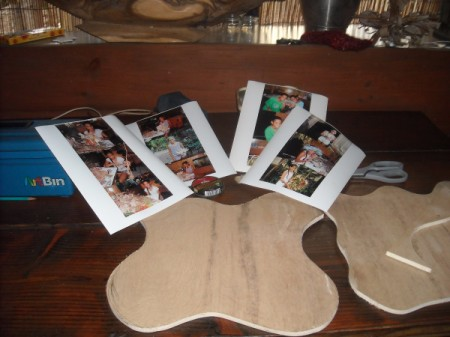 Scrapbook Photo Plaques